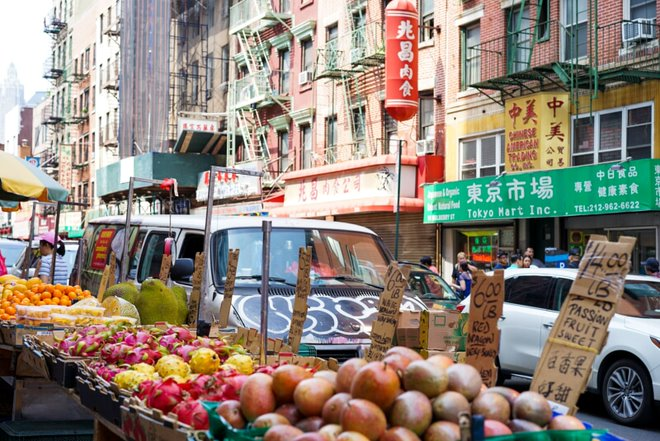 Manhattan's Chinatown is the oldest Chinese neighborhood in New York City